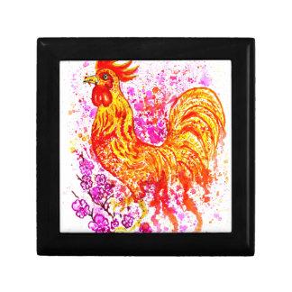Fancy Rooster Art 3 Gift Box