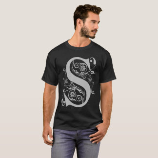 Fancy S Typography T-Shirt