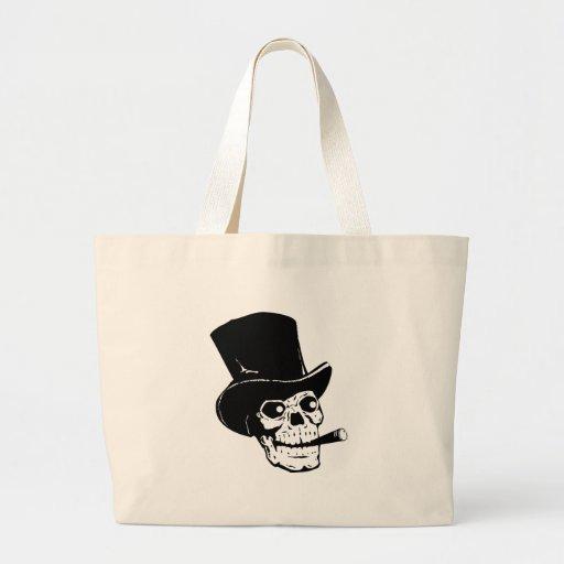 Fancy Skull Canvas Bags