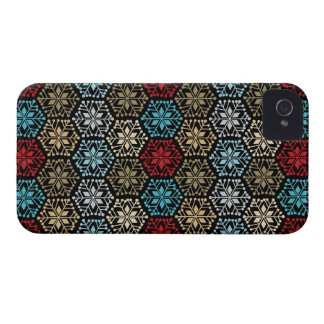 Fancy Snowflakes BlackBerry Bold Case Mate Covers