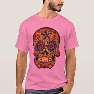 Fancy Sugar Skull T-Shirt
