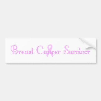 Fancy Survivor Bumper Sticker