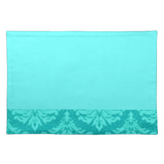 Fancy Teal Placemats
