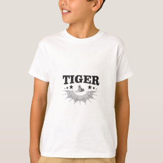 fancy tiger logo T-Shirt