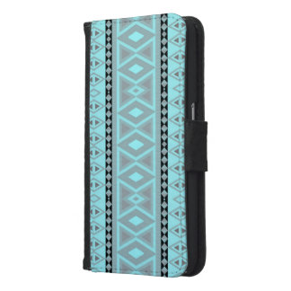 Fancy tribal border pattern samsung galaxy s6 wallet case