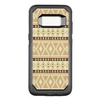 fancy tribal pattern beige (I) OtterBox Commuter Samsung Galaxy S8 Case