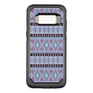 fancy tribal pattern  blue (I) OtterBox Commuter Samsung Galaxy S8 Case
