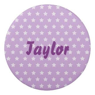 Fancy Twinkle stars purple background Eraser