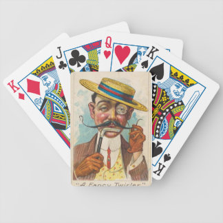 Fancy Twirler Bicycle Playing Cards