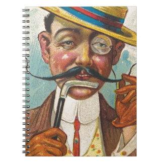 Fancy Twirler Notebook