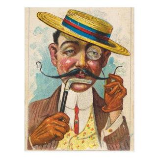 Fancy Twirler Postcard
