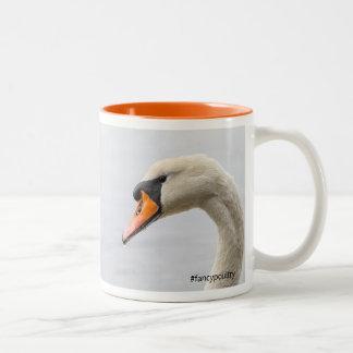 Fancypoultry swan mug