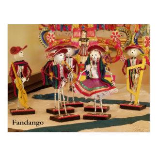Fandango Day of the Dead Lovers Post Card