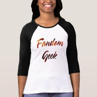 Fandom Geek Fire T-Shirt