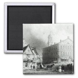 Faneuiel Hall, Boston Square Magnet