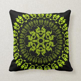 fang green circle cushion