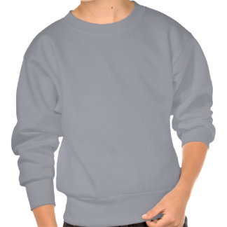 Fanged Red Devil With Horns Pull Over Sweatshirts