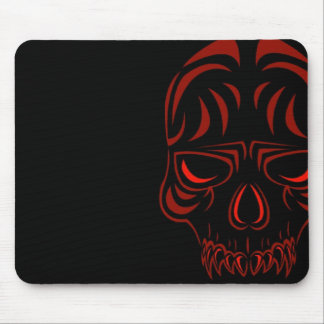 Fanged Skull Mousepad