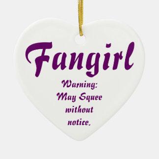 Fangirl/Fanfic Ceramic Ornament