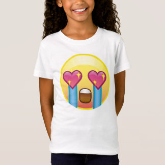 Fangirling Excited Crying Screaming Emoji Shirt