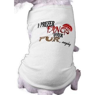 Fangs over Fur Shirt