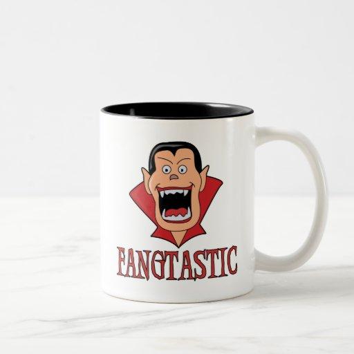 Fangtastic Vampire Two-Tone Mug Mugs