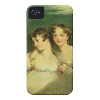 Fanny and Jane Hamond iPhone 4 Case-Mate Case
