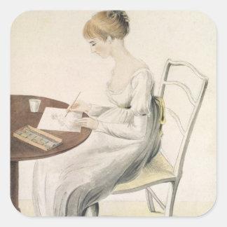 Fanny Austen-Knight Square Sticker