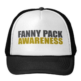 fanny pack awareness mesh hat