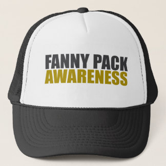 fanny pack awareness trucker hat