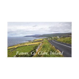 Fanore, Co Clare, Ireland Canvas Canvas Print