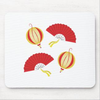 Fans & Lanterns Mouse Pad
