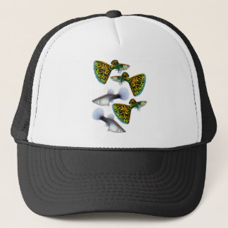 Fantail Guppies Trucker Hat