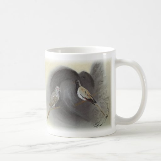 Fantail Pigeon ~ Diamon Dove ~Cape Dove Mug