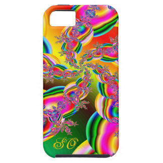 Fantasia Rainbow Strings Fractal iPhone 5 Cases
