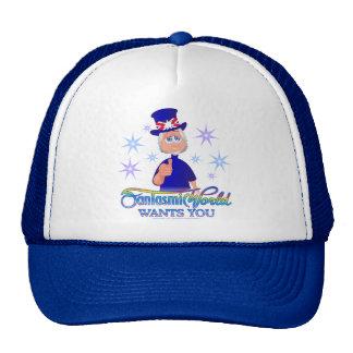 FantasmicWorld Wants You (CD Blue) Cap