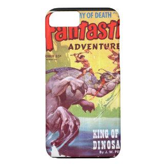 Fantastic Adventures v07 n04 (Oct 1945)_Pulp Art iPhone 7 Case