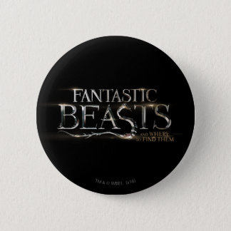 Fantastic Beasts And Where To Find Them Logo 6 Cm Round Badge