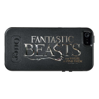 Fantastic Beasts And Where To Find Them Logo OtterBox iPhone 5/5s/SE Case