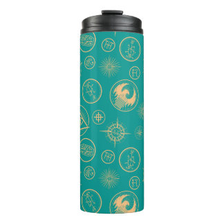 Fantastic Beasts And Where To Find Them Pattern Thermal Tumbler