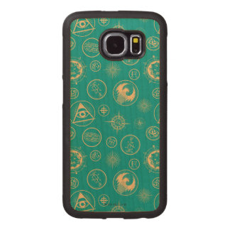 Fantastic Beasts And Where To Find Them Pattern Wood Phone Case