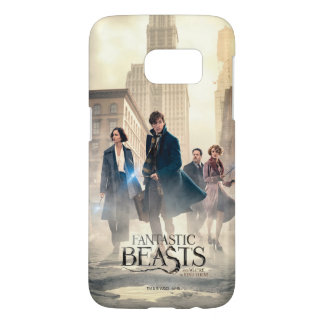 Fantastic Beasts City Fog Poster