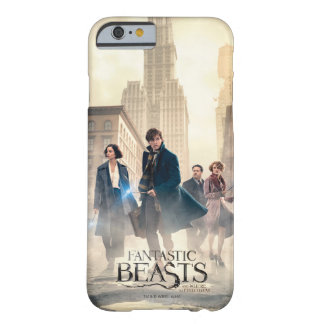 Fantastic Beasts City Fog Poster Barely There iPhone 6 Case