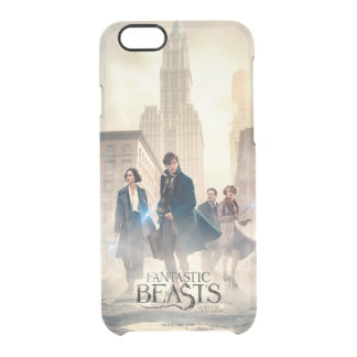 Fantastic Beasts City Fog Poster Clear iPhone 6/6S Case