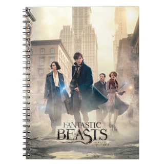 Fantastic Beasts City Fog Poster Notebooks