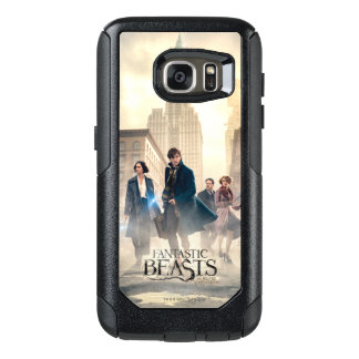 Fantastic Beasts City Fog Poster OtterBox Samsung Galaxy S7 Case