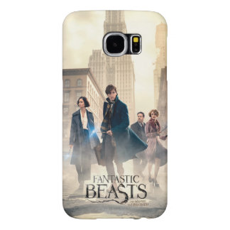 Fantastic Beasts City Fog Poster Samsung Galaxy S6 Cases