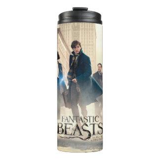 Fantastic Beasts City Fog Poster Thermal Tumbler