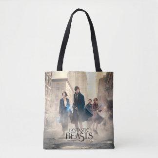 Fantastic Beasts City Fog Poster Tote Bag
