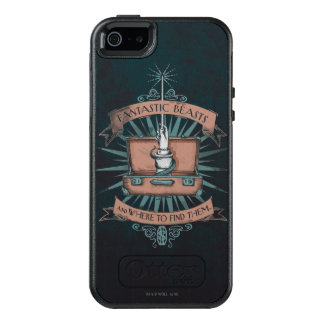 Fantastic Beasts Newt's Briefcase Graphic OtterBox iPhone 5/5s/SE Case